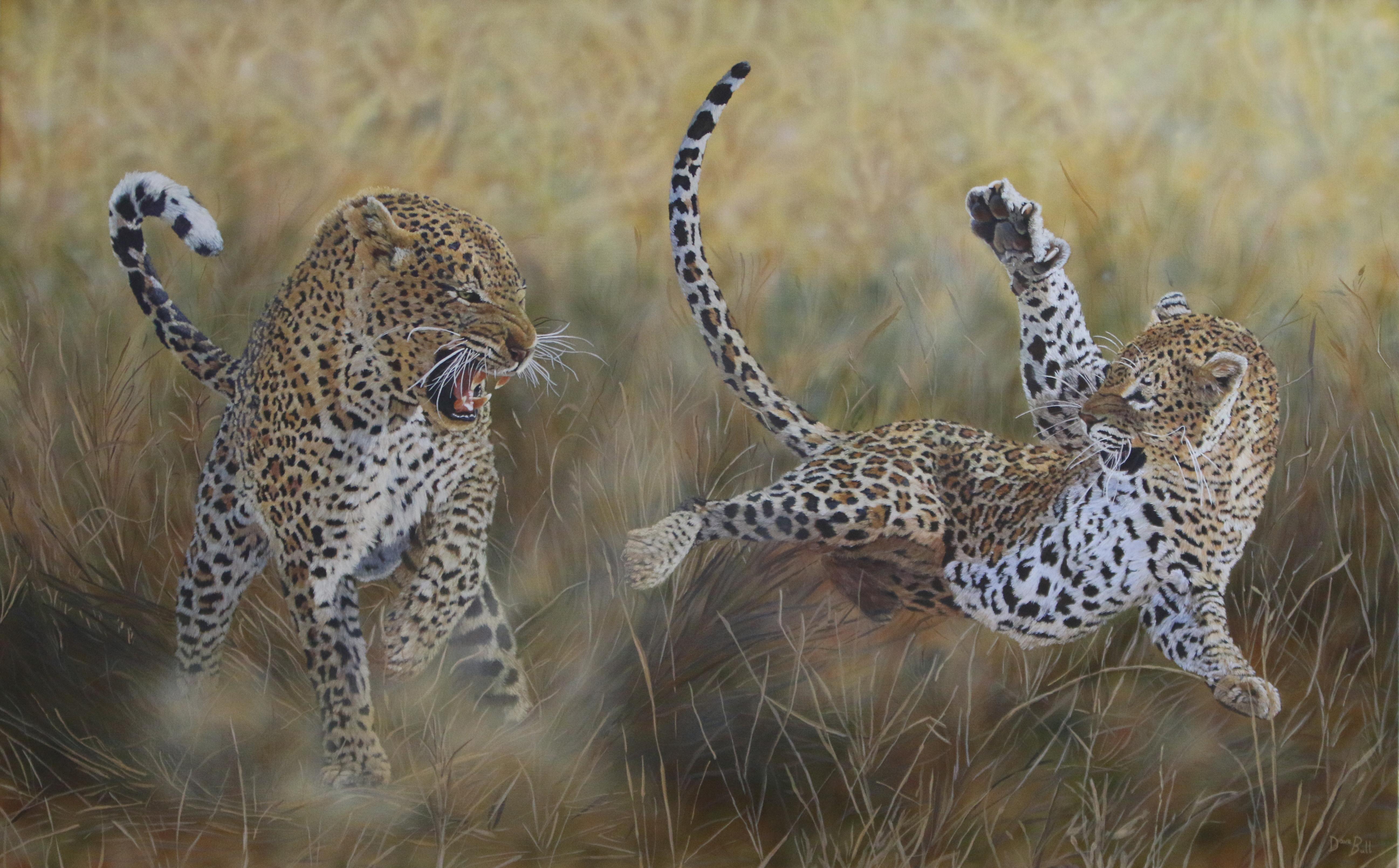 Leopards 160 x 100 cm