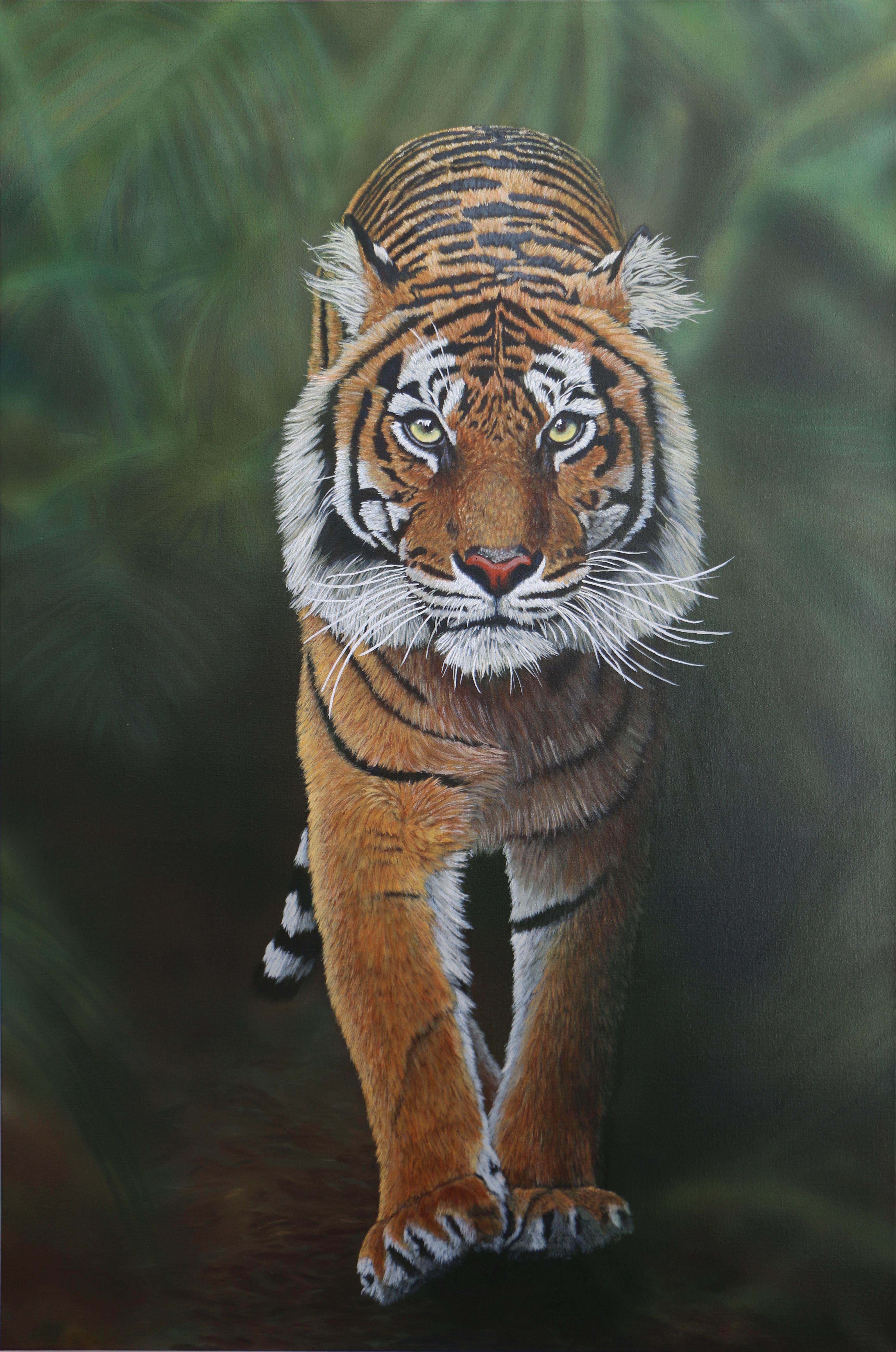 Tiger 120 x 80 cm